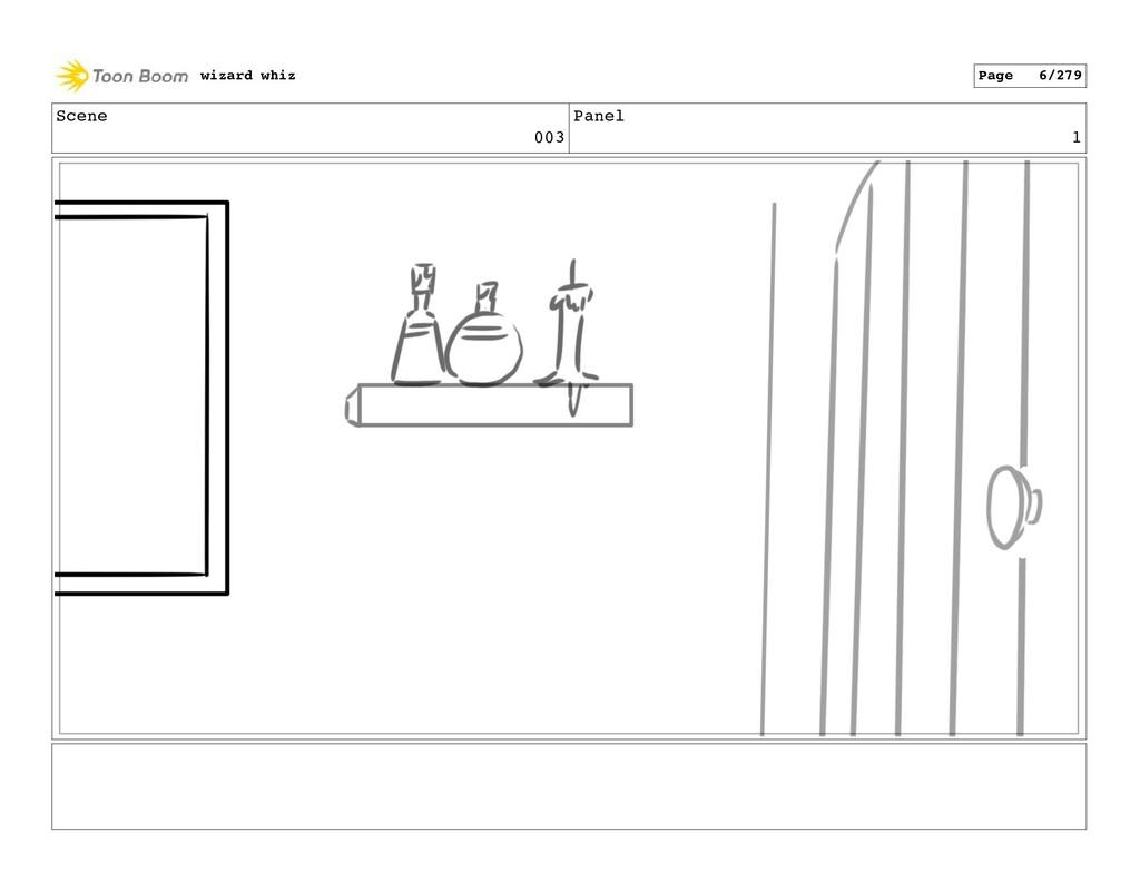 Scene 003 Panel 1 wizard whiz Page 6/279