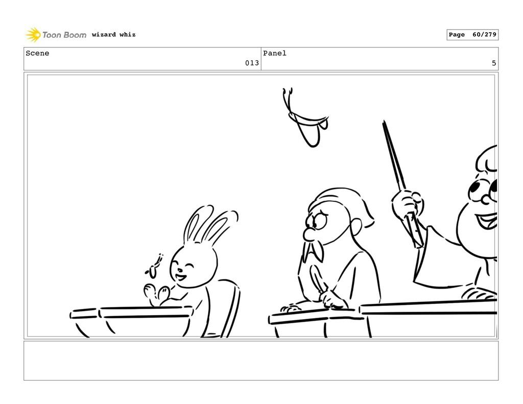 Scene 013 Panel 5 wizard whiz Page 60/279