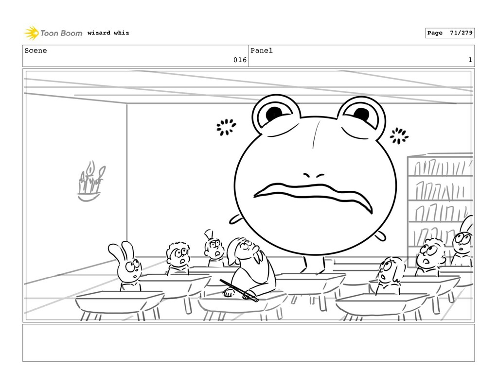 Scene 016 Panel 1 wizard whiz Page 71/279
