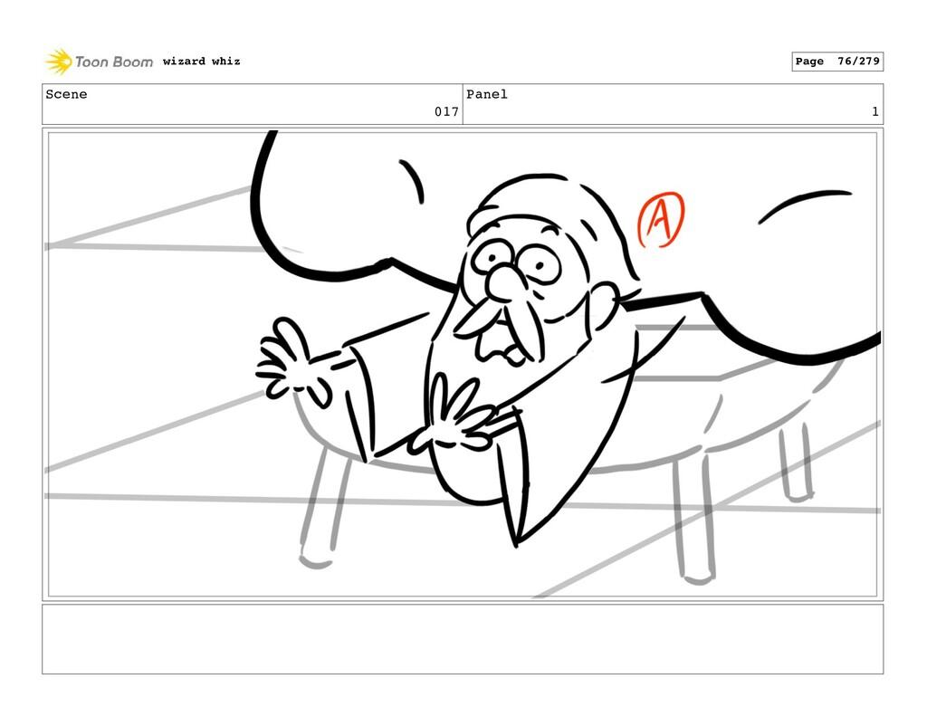 Scene 017 Panel 1 wizard whiz Page 76/279