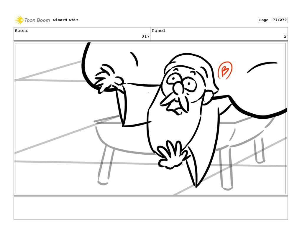 Scene 017 Panel 2 wizard whiz Page 77/279
