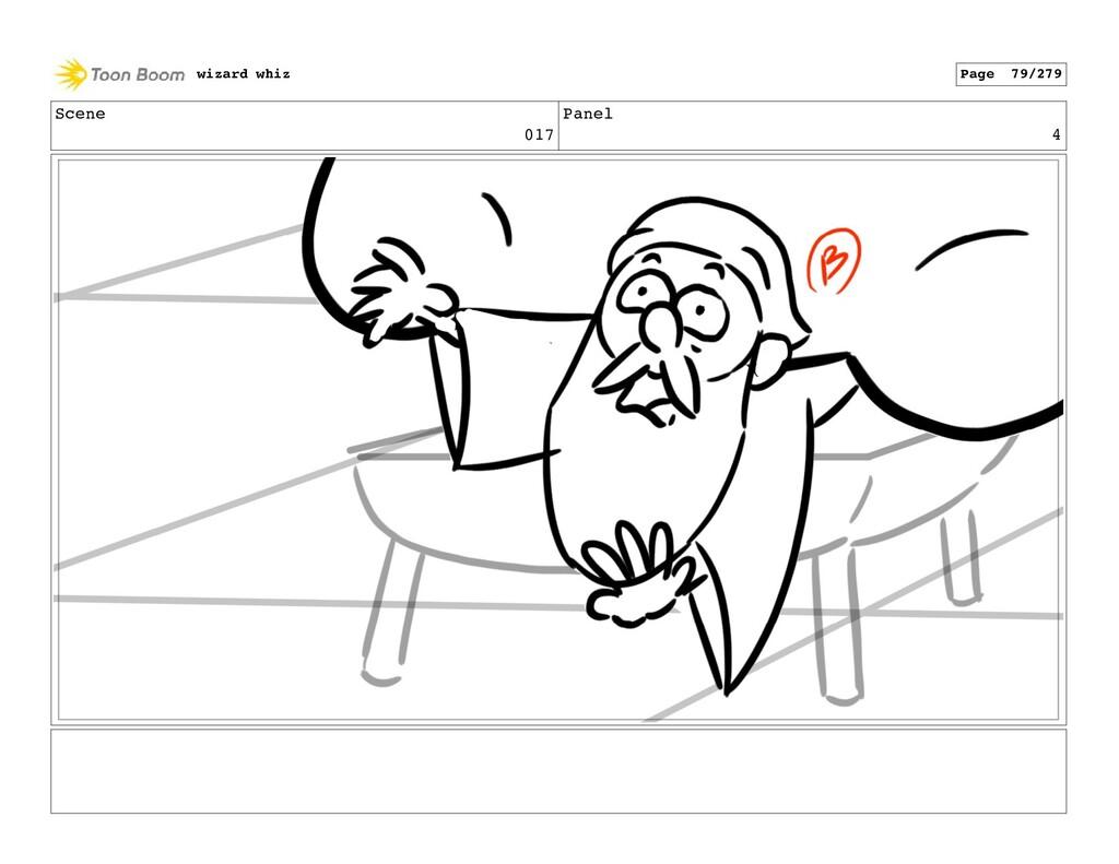 Scene 017 Panel 4 wizard whiz Page 79/279