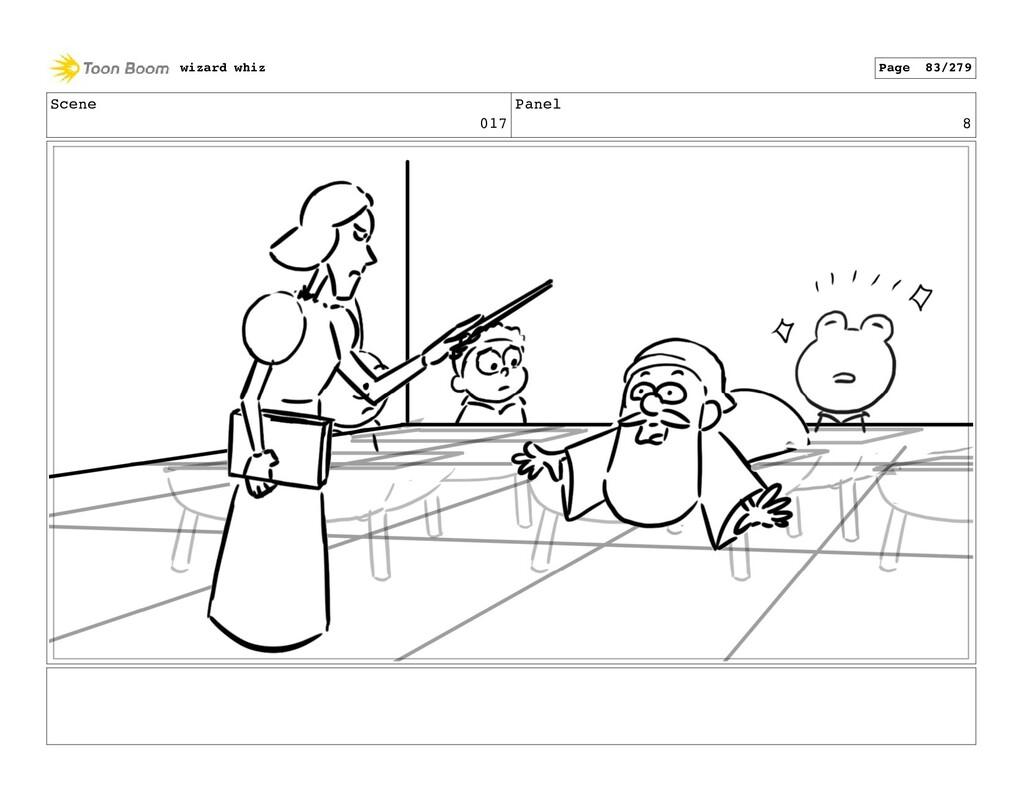 Scene 017 Panel 8 wizard whiz Page 83/279