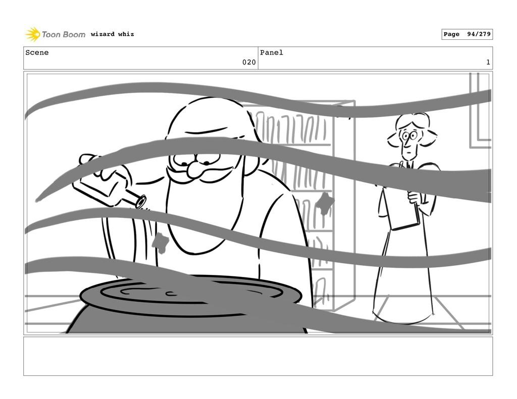 Scene 020 Panel 1 wizard whiz Page 94/279