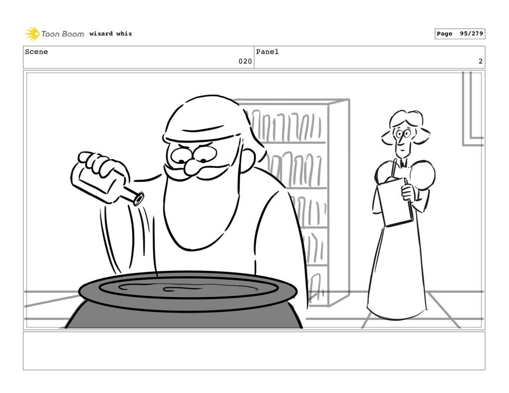 Scene 020 Panel 2 wizard whiz Page 95/279