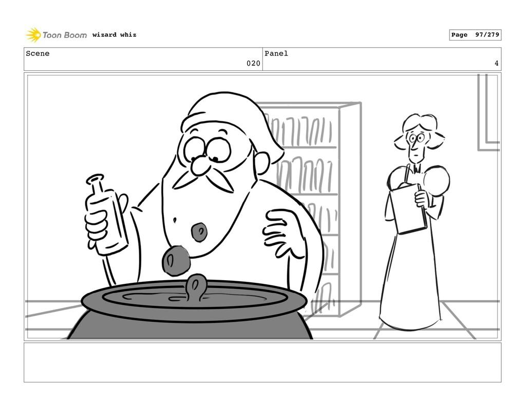 Scene 020 Panel 4 wizard whiz Page 97/279