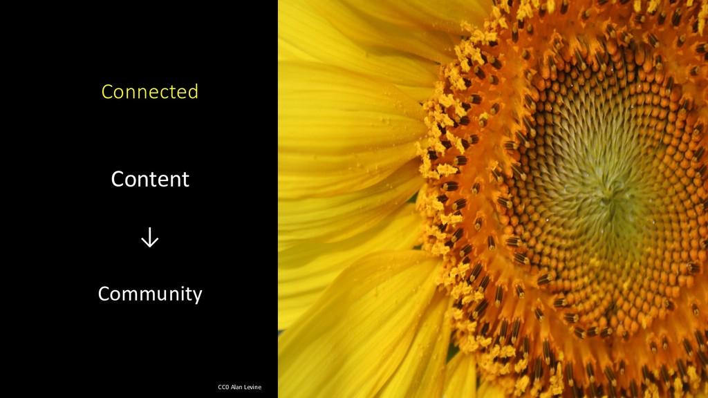 Content ↓ Community Connected CC0 Alan Levine