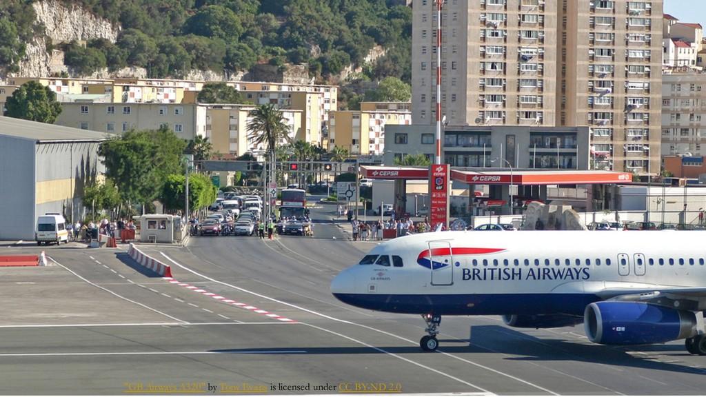 """GB Airways A320"" by Tony Evans is licensed und..."