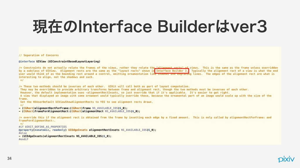// Separation of Concerns @interface UIView (UI...