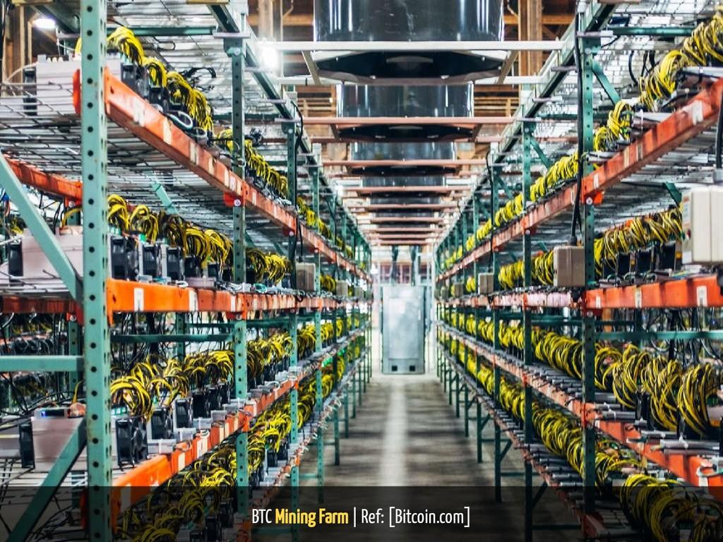 BTC Mining Farm | Ref: [Bitcoin.com] 26 / 38