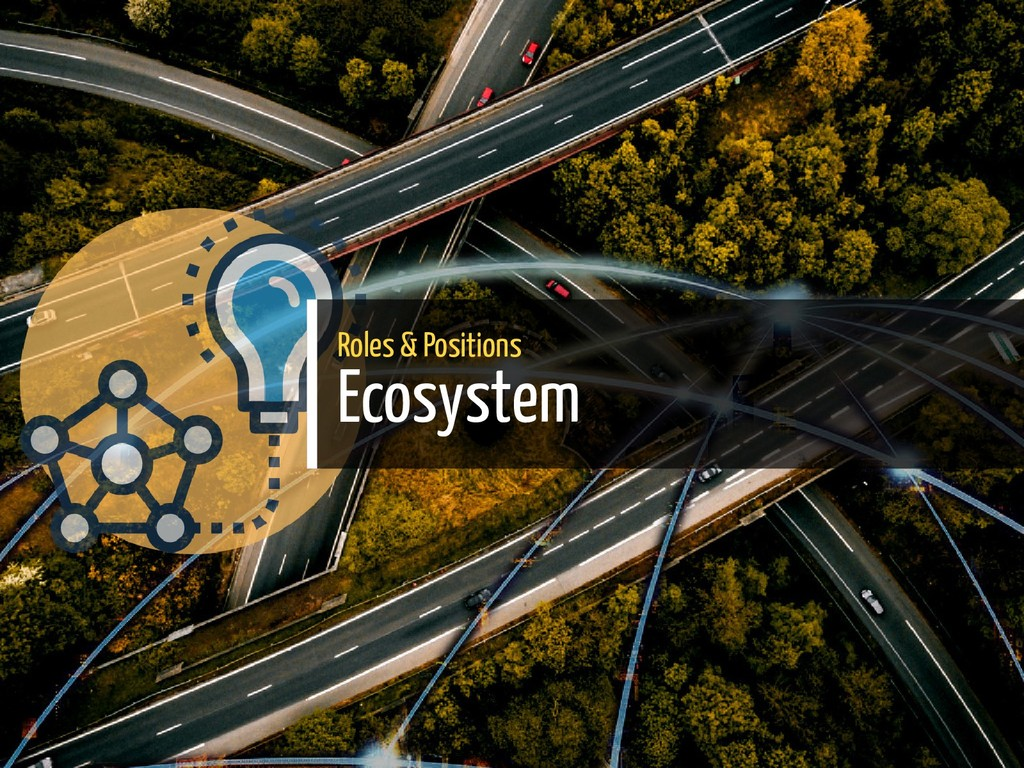 Roles & Positions Ecosystem 30 / 38