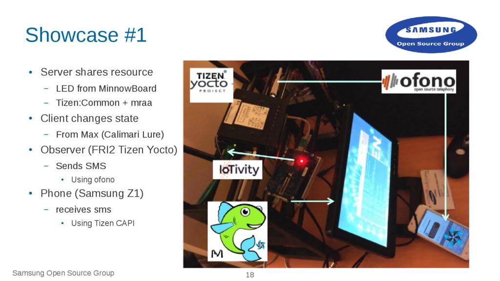 Samsung Open Source Group 18 Showcase #1 ● Serv...