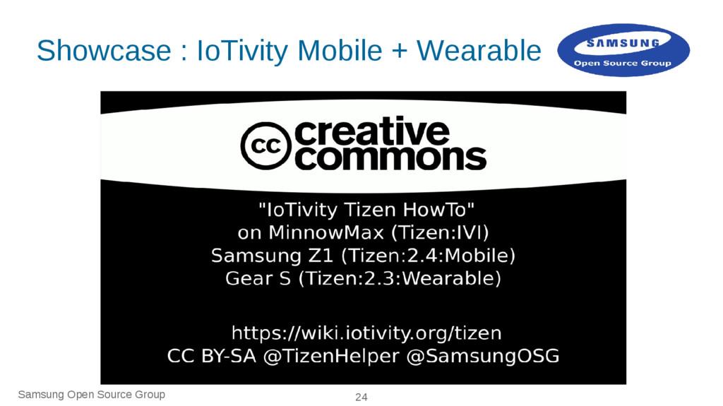 Samsung Open Source Group 24 Showcase : IoTivit...