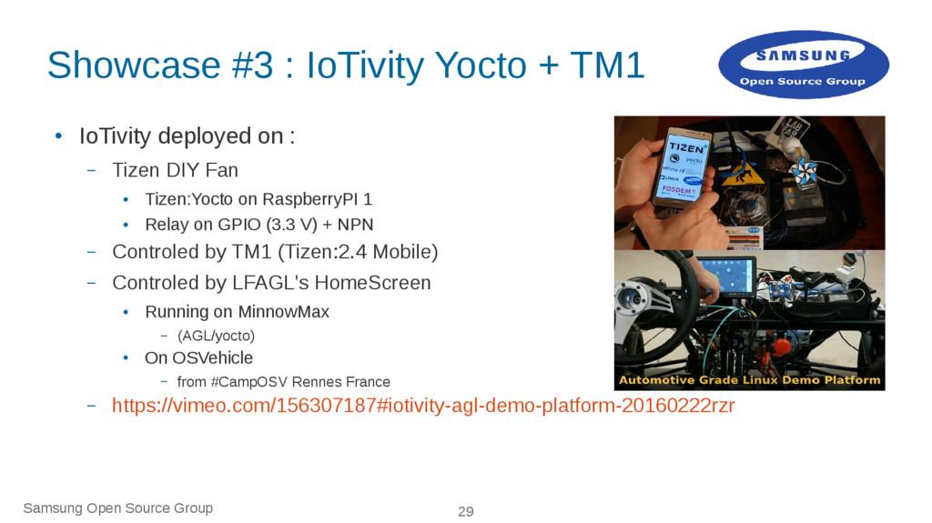 Samsung Open Source Group 29 Showcase #3 : IoTi...