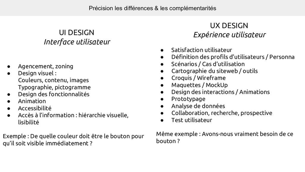 UX DESIGN Expérience utilisateur ● Satisfaction...