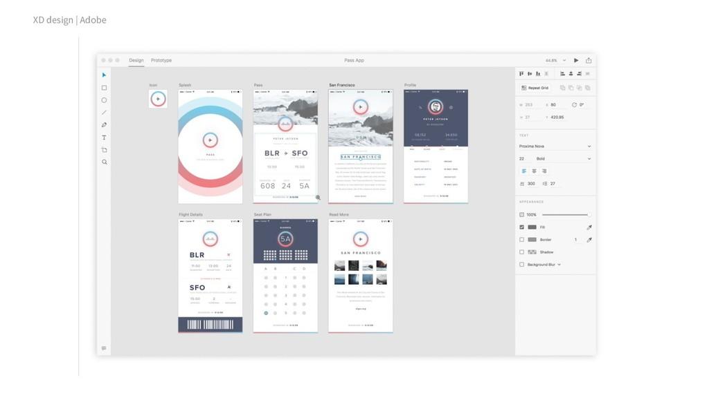 XD design | Adobe