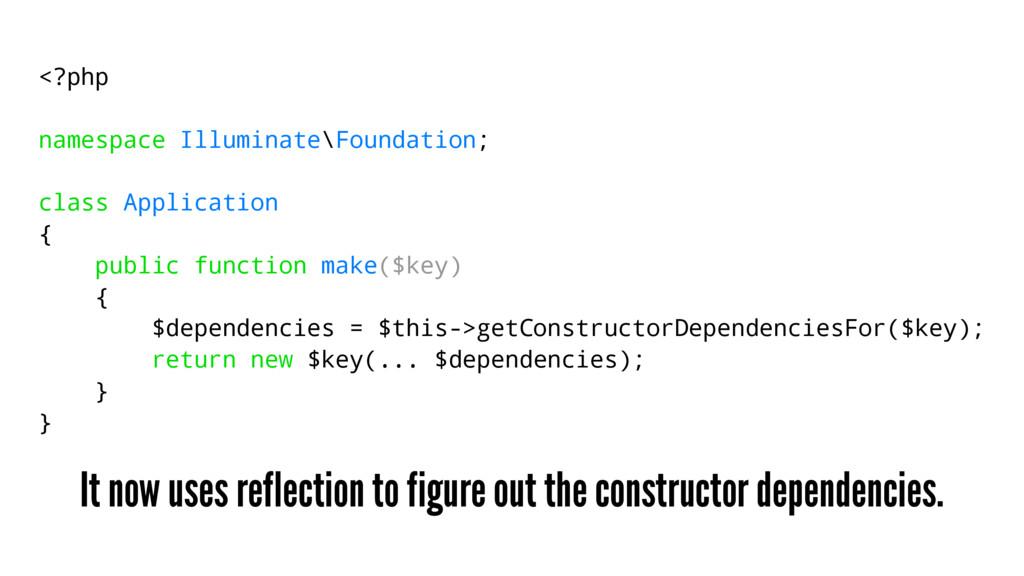 <?php namespace Illuminate\Foundation; class Ap...