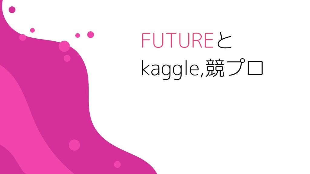 FUTUREと kaggle,競プロ