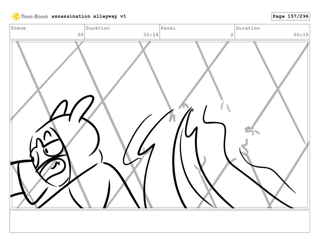 Scene 55 Duration 01:14 Panel 2 Duration 00:19 ...