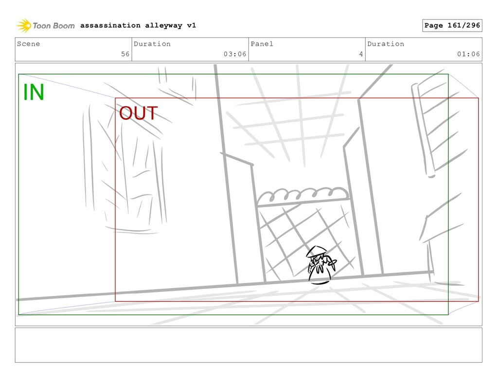 Scene 56 Duration 03:06 Panel 4 Duration 01:06 ...