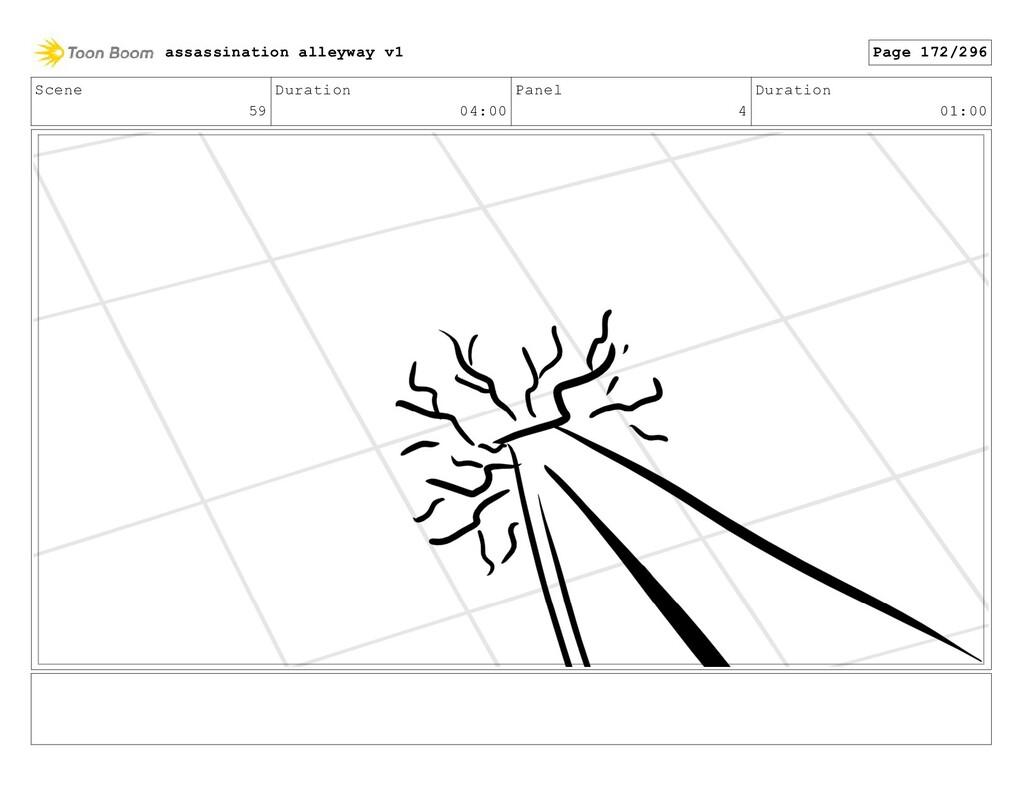 Scene 59 Duration 04:00 Panel 4 Duration 01:00 ...