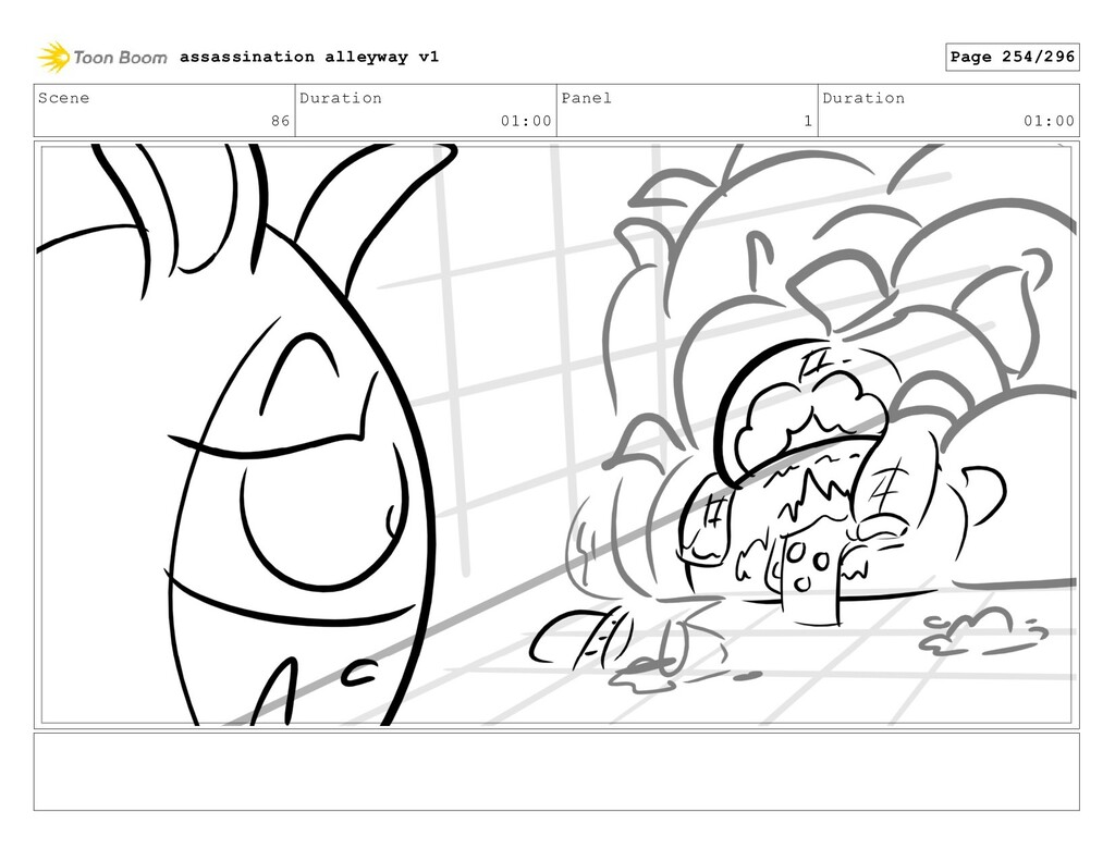 Scene 86 Duration 01:00 Panel 1 Duration 01:00 ...