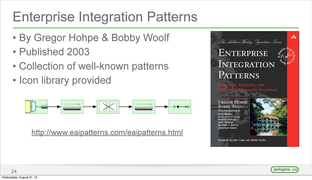 Enterprise Integration Patterns • By Gregor Hoh...