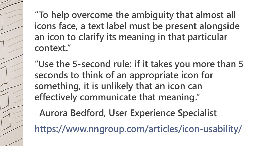 """""""To help overcome the ambiguity that almost all..."""