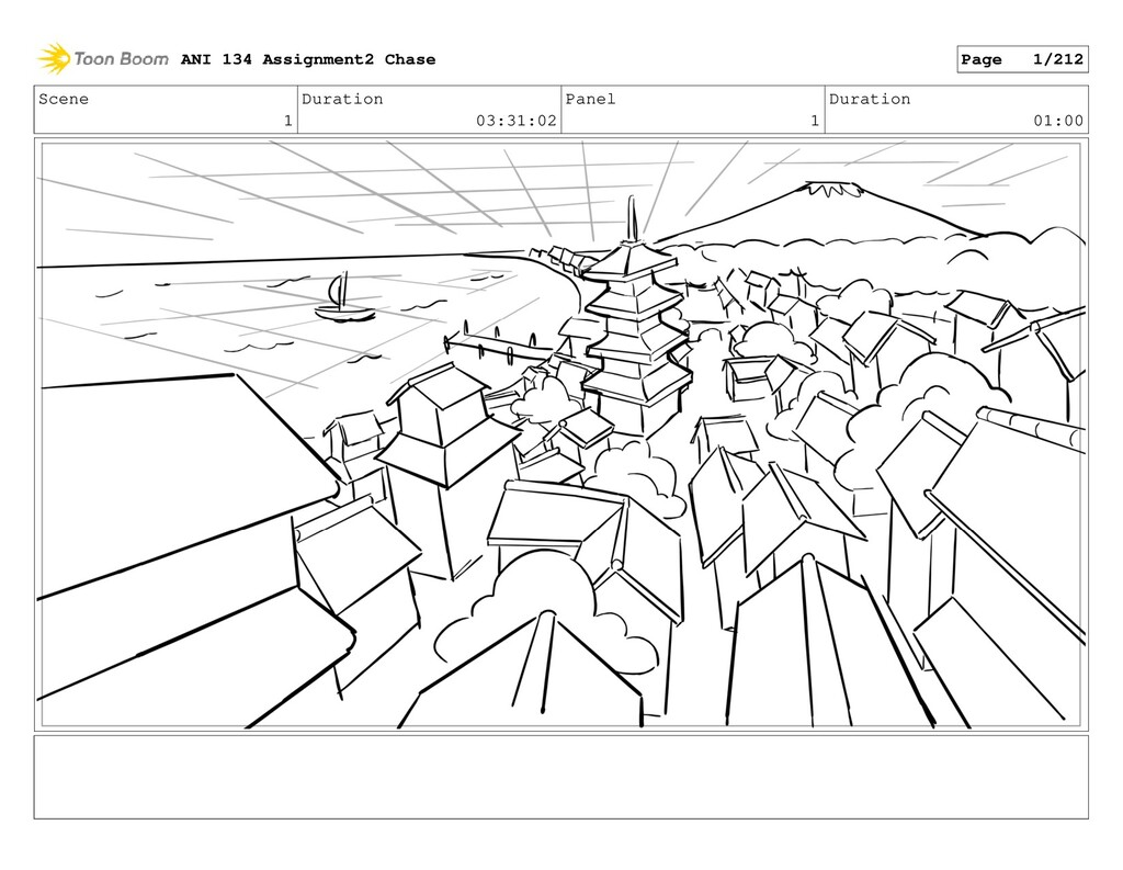 Scene 1 Duration 03:31:02 Panel 1 Duration 01:0...