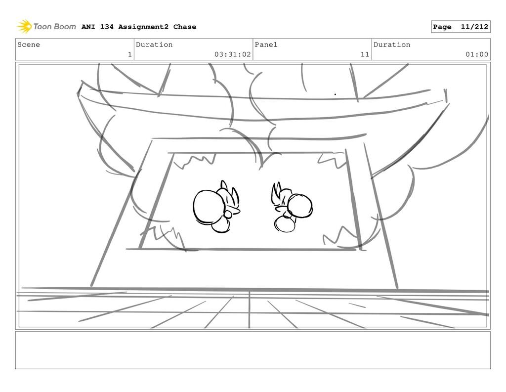 Scene 1 Duration 03:31:02 Panel 11 Duration 01:...
