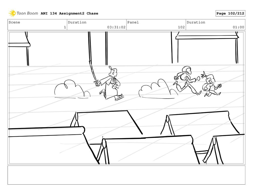 Scene 1 Duration 03:31:02 Panel 102 Duration 01...