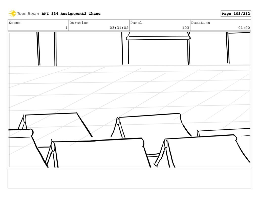Scene 1 Duration 03:31:02 Panel 103 Duration 01...