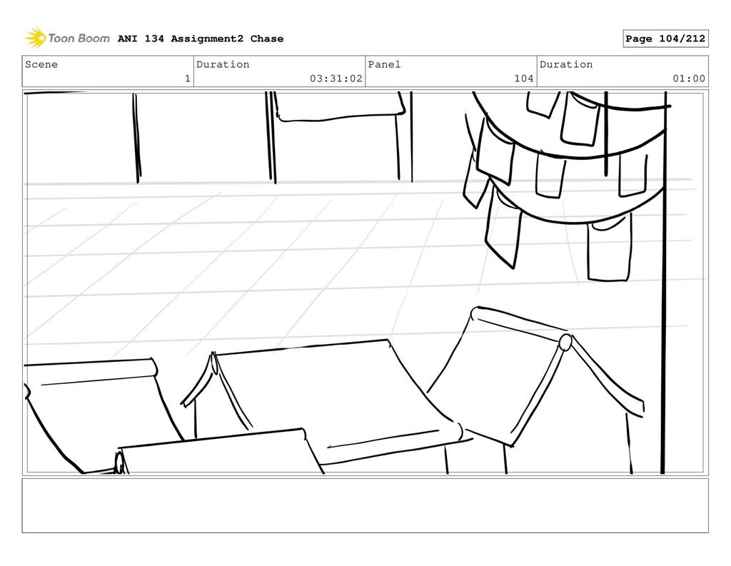 Scene 1 Duration 03:31:02 Panel 104 Duration 01...