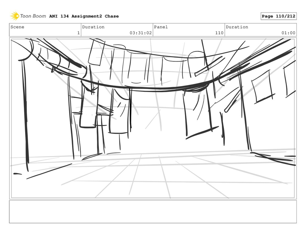 Scene 1 Duration 03:31:02 Panel 110 Duration 01...