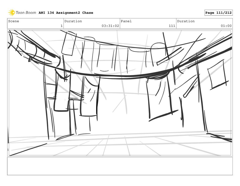 Scene 1 Duration 03:31:02 Panel 111 Duration 01...