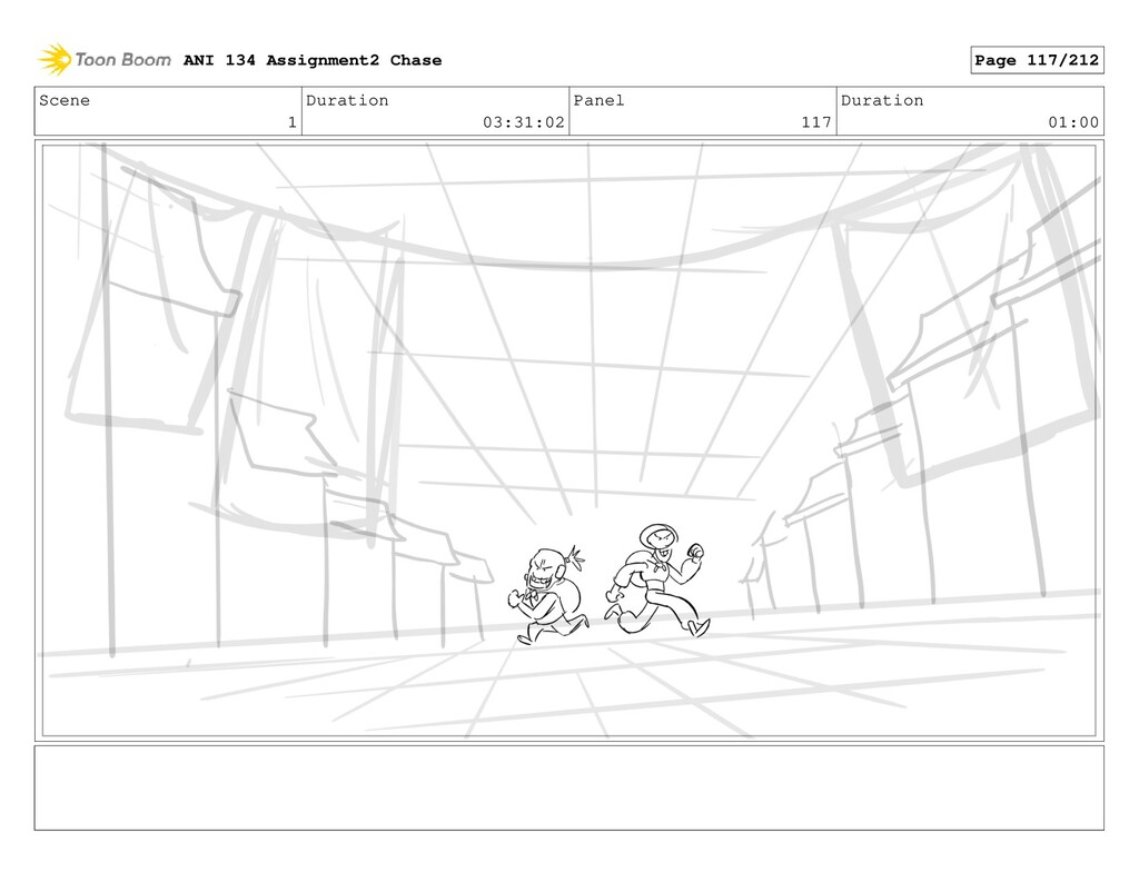 Scene 1 Duration 03:31:02 Panel 117 Duration 01...