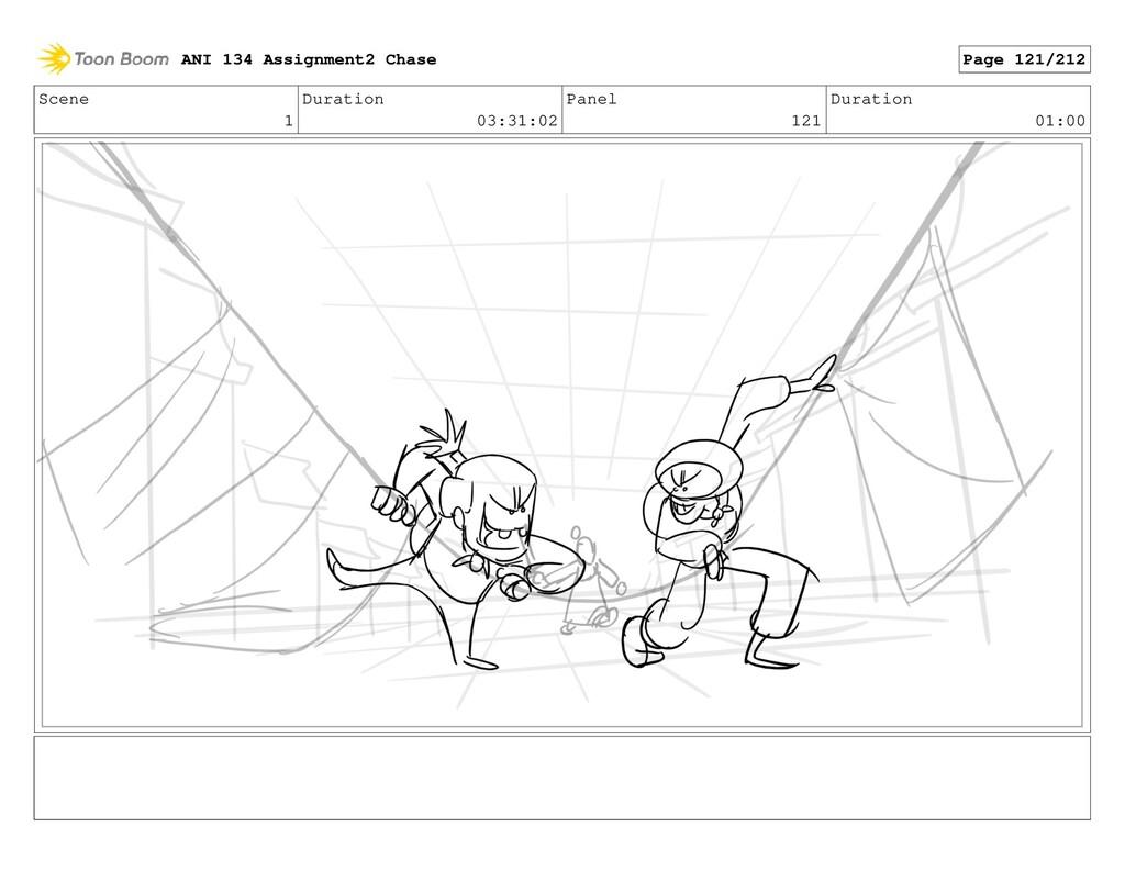 Scene 1 Duration 03:31:02 Panel 121 Duration 01...
