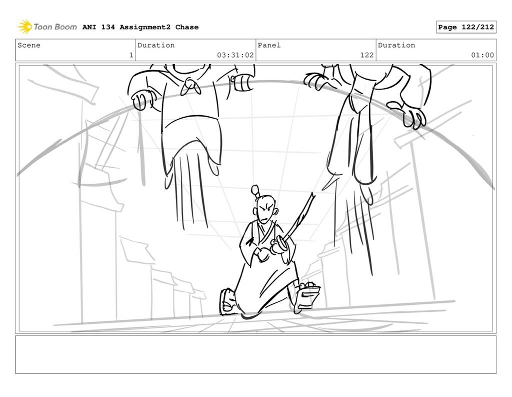 Scene 1 Duration 03:31:02 Panel 122 Duration 01...