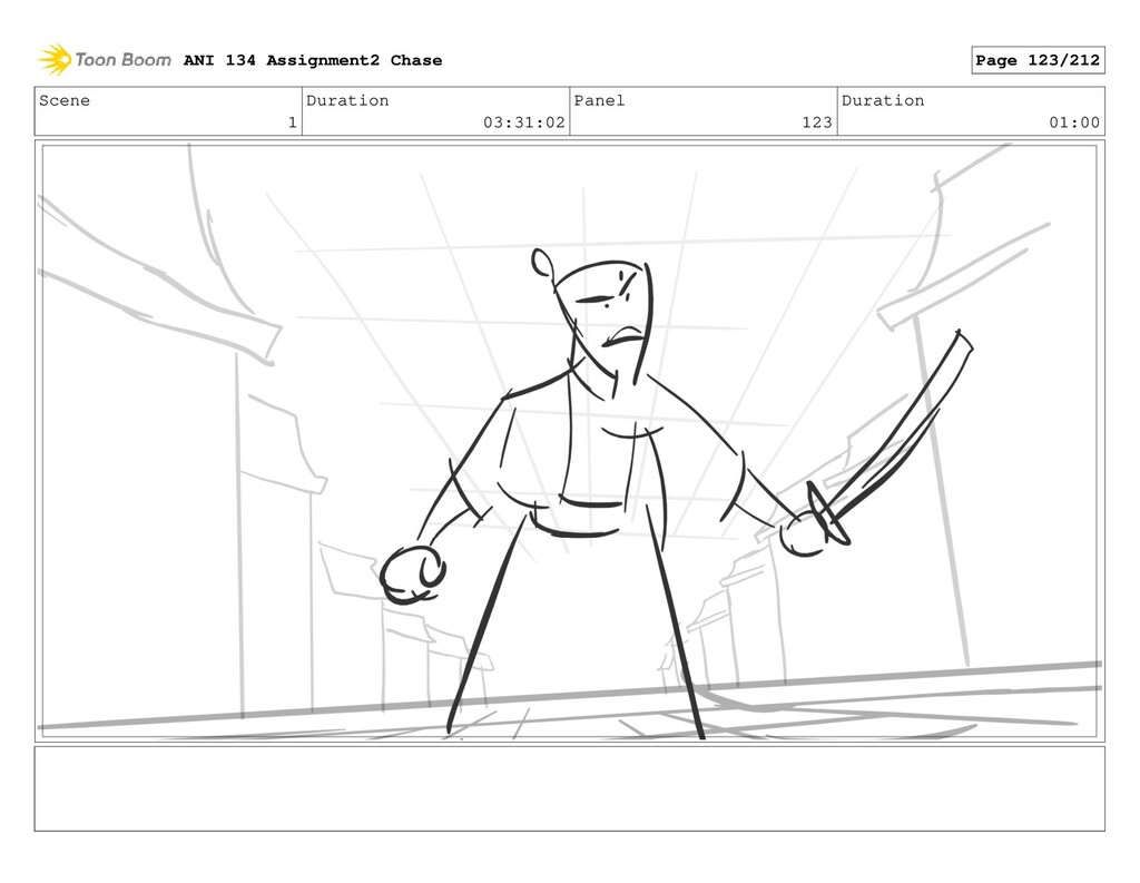 Scene 1 Duration 03:31:02 Panel 123 Duration 01...