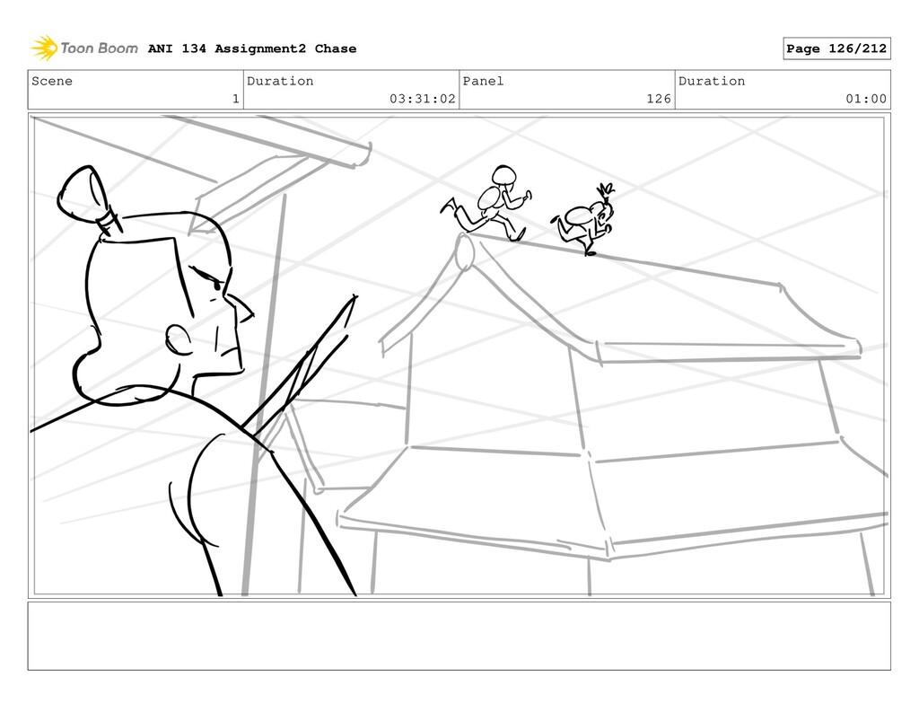 Scene 1 Duration 03:31:02 Panel 126 Duration 01...