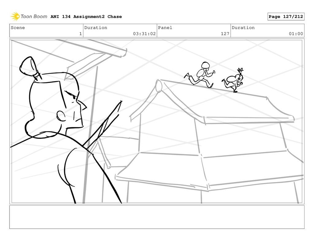 Scene 1 Duration 03:31:02 Panel 127 Duration 01...