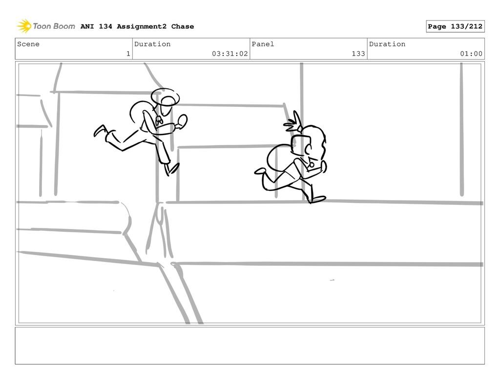 Scene 1 Duration 03:31:02 Panel 133 Duration 01...