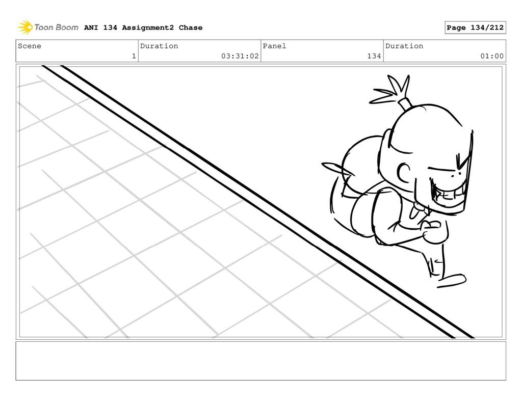 Scene 1 Duration 03:31:02 Panel 134 Duration 01...