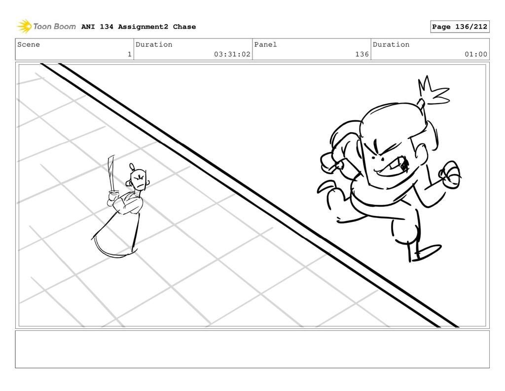 Scene 1 Duration 03:31:02 Panel 136 Duration 01...