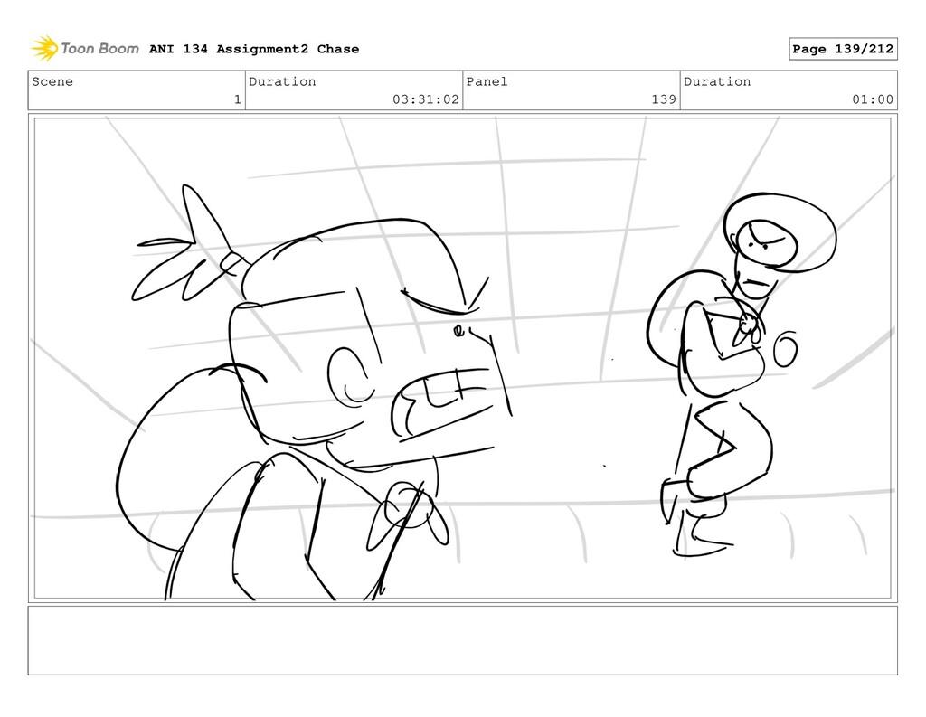 Scene 1 Duration 03:31:02 Panel 139 Duration 01...