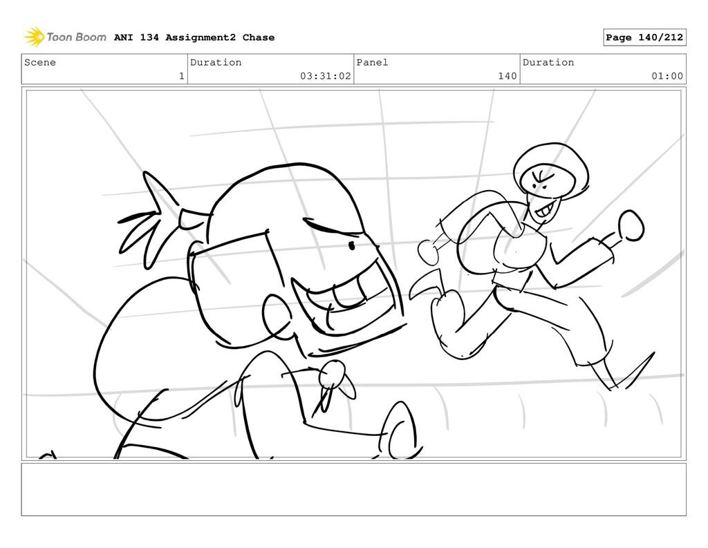 Scene 1 Duration 03:31:02 Panel 140 Duration 01...
