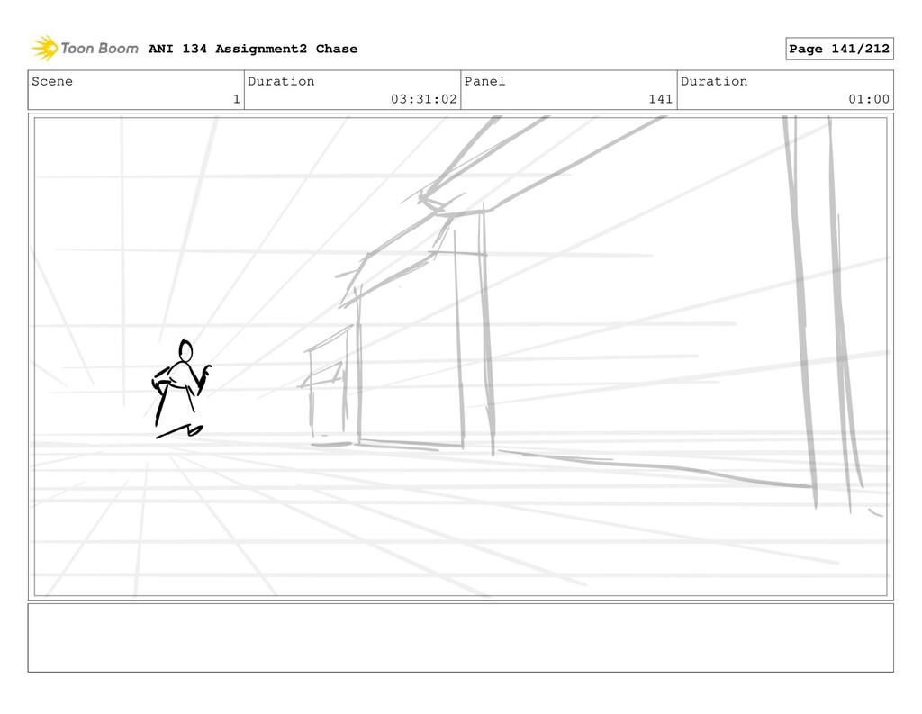 Scene 1 Duration 03:31:02 Panel 141 Duration 01...