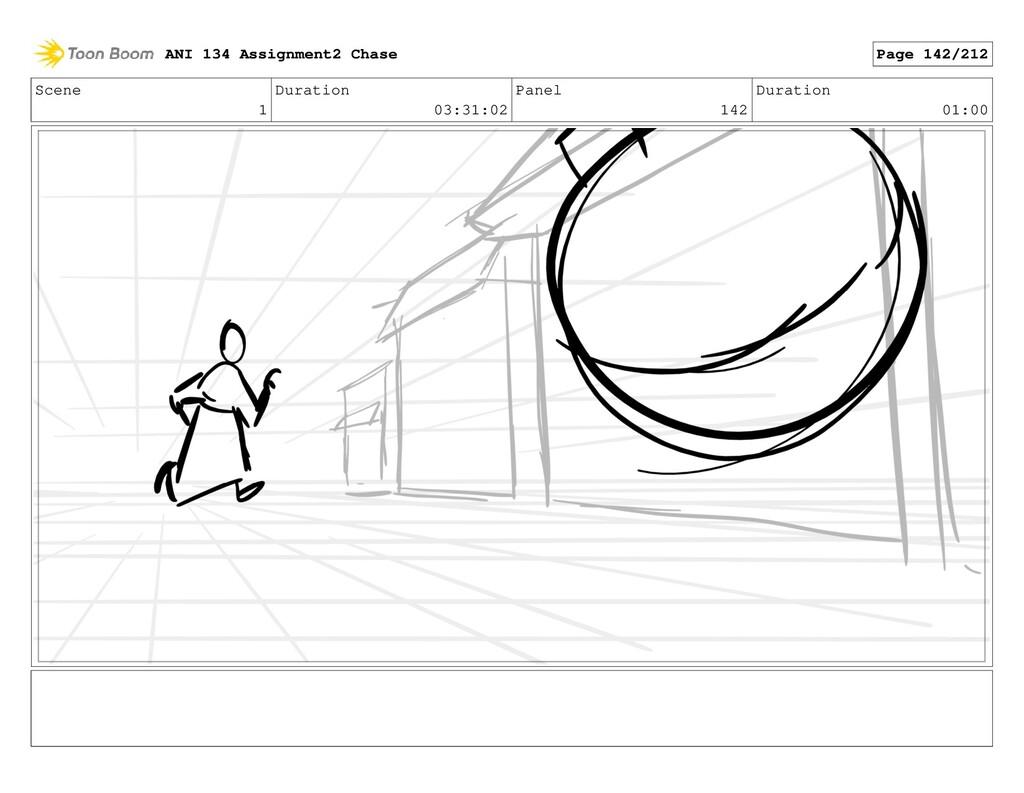 Scene 1 Duration 03:31:02 Panel 142 Duration 01...