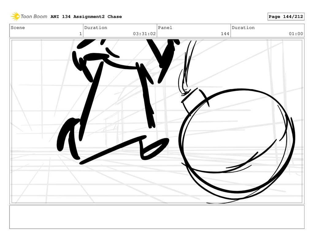 Scene 1 Duration 03:31:02 Panel 144 Duration 01...