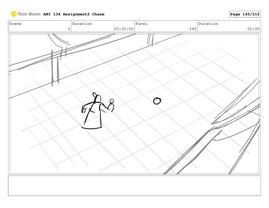 Scene 1 Duration 03:31:02 Panel 145 Duration 01...